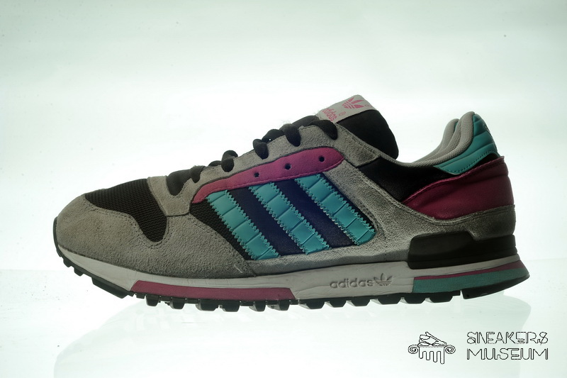 grossiste ed9de 58109 Adidas ZX 600 pink/blue/gray/black 2006 10 uk - 45 RARE